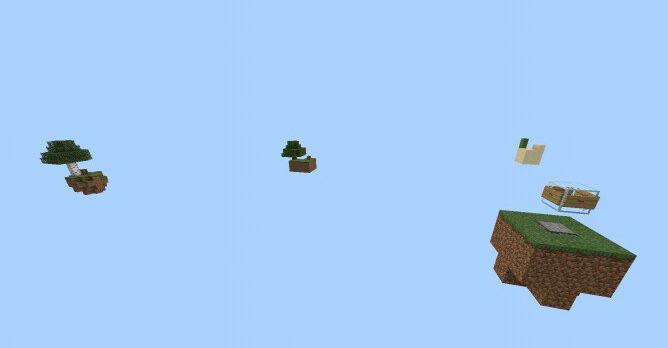 Карта Skyblock:Re  (Выживание)]