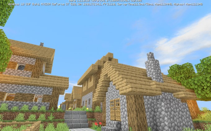 Карта Village And Pillage Showcase (Постройка)