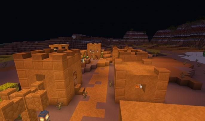 Карта Mesa/Badlands Village (Постройка)