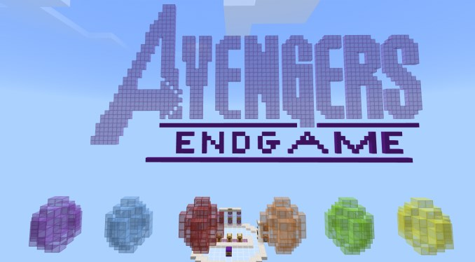 Карта Avengers: Endgame Find the Infinity Stone (Приключение)
