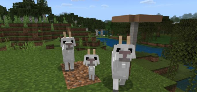 Мод Goat 1.14/1.13 (Новый моб)