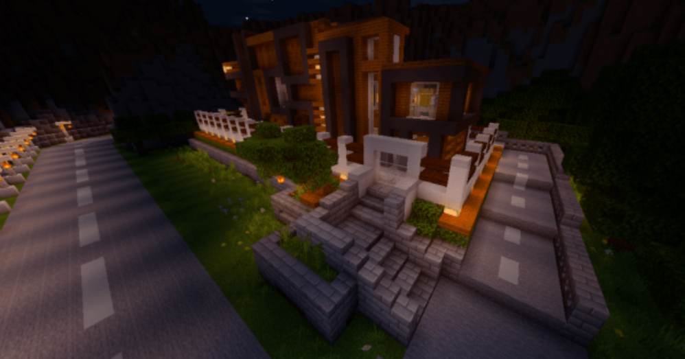 Карта The Fancy Modern Mansion (Постройка)
