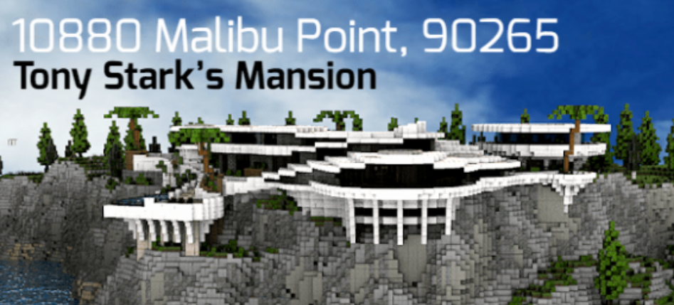 Карта 10880 Malibu Point | Tony Stark's Mansion (Постройка)]