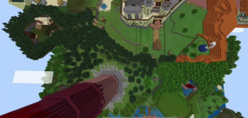 Карта The Legend of Zelda Majoras Mask (Постройка)