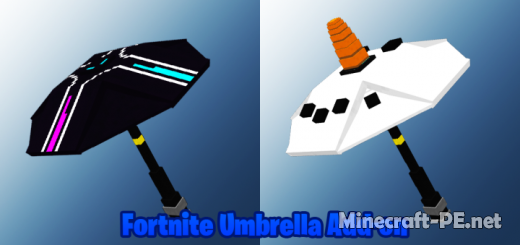 Мод  Fortnite Umbrella 1.16 (Зонтики из Fortnite)]
