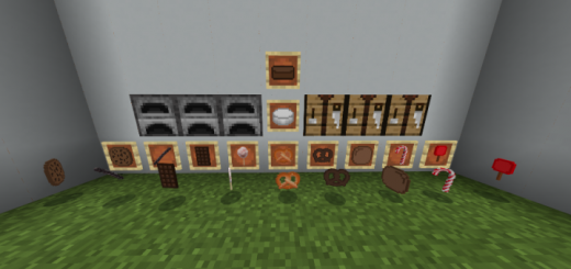 Мод The Candy 1.16 (Конфеты в Minecraft Bedrock)]