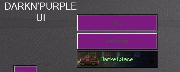 Darkn Purple 1.16/1.15 (Темно-фиолетовые текстуры)]