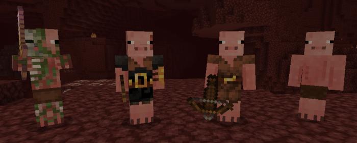 Мод The Pigmen 1.16 (Дикие свиньи)