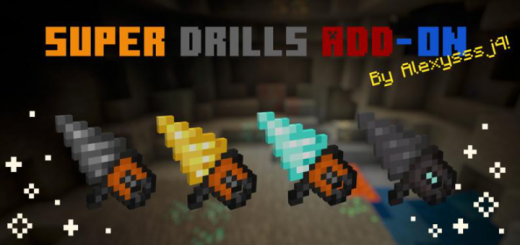Мод Super Drills 1.16/1.14 (Супер дрели)]
