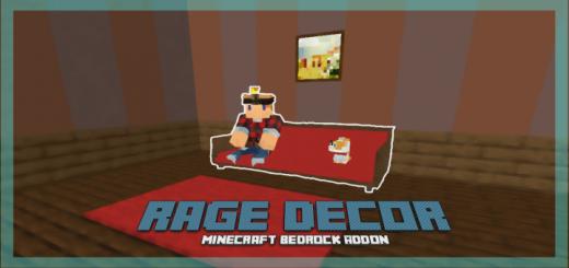 Мод Rage Decor 1.16 (Новая мебель)