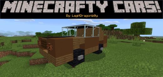 Мод Minecrafty Cars! 1.16 (Автомобили F1)