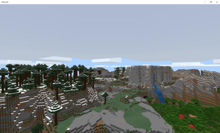 Мод Mountains Concept 1.16 (Горное дополнение)