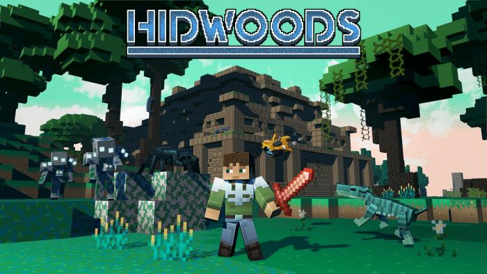 Мод HIDWOODS 1.16 (Интересный верхний мир)