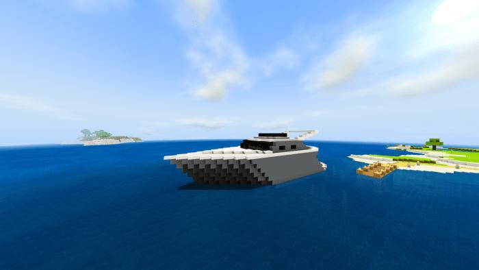 Карта Seaside Modern House 1.16 (Современный дом-яхта)