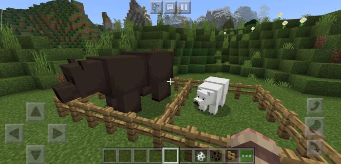 Мод Giant Bears 1.16 (Гигантский медведь)