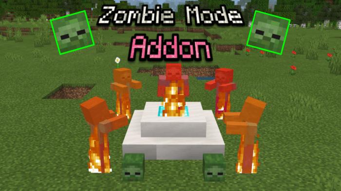 Мод Zombie Mode! 1.16 (Режим зомби)