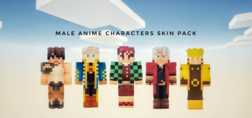 Скинпак The Male Anime Characters (Мужские персонажи аниме)]