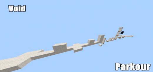 Карта Void Parkour! (6 уровней паркура)]