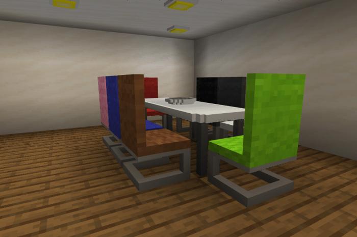Мод Peepss Furniture 1.16 (Холодильник, плита, стулья)