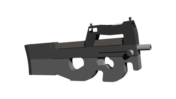 Мод ActualGuns 3D 1.16 (3D-оружие в Майнкрафт)