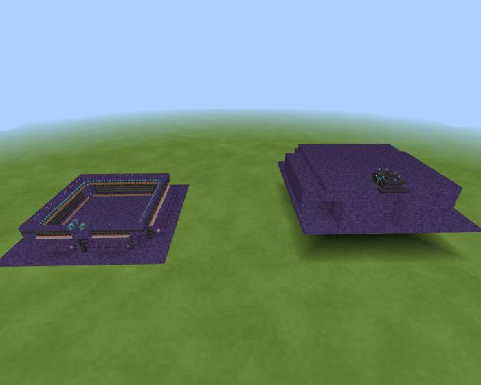Карта Bedrock Item Sorting System (Система сортировки предметов)
