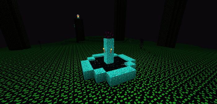 The Encrypted Dimension 1.16/1.14 (Новые текстуры края)