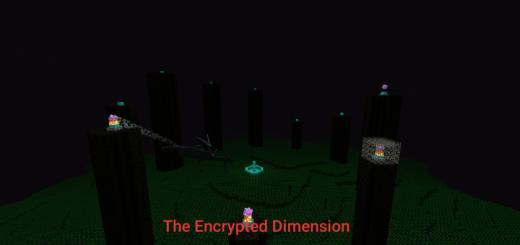 The Encrypted Dimension 1.16/1.14 (Новые текстуры края)]
