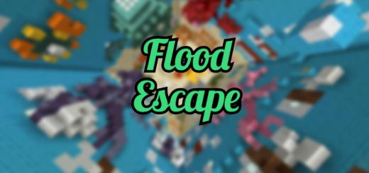 Карта Flood Escape! (Побег от зеленого наводнения)]