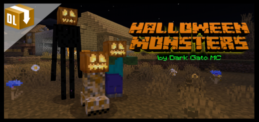 Halloween Monsters 1.16 (Текстуры