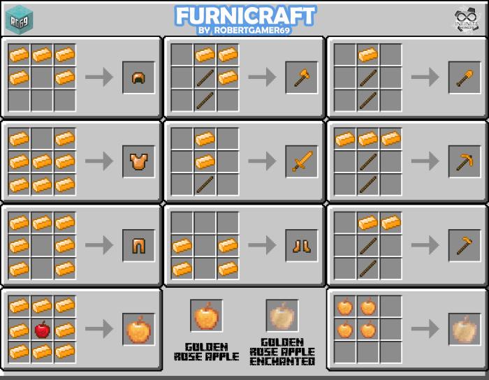 Мод FURNICRAFT 3D BLOCK 1.16 (Плита, душ, бильярдный стол...)