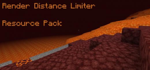 Render Distance Limiter 1.16 (Текстуры с меньшим рендерингом)]
