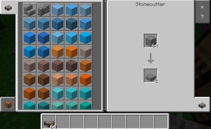 Мод More Stone Colors 1.16 (Цветные блоки)