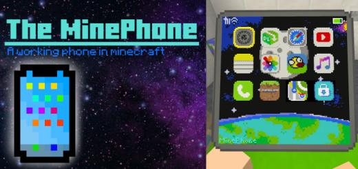 Карта Working Phone in Minecraft 1.16 (Функциональный телефон)]