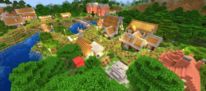 Карта The Fairy Tale World 1.16 (Сказочный мир)]
