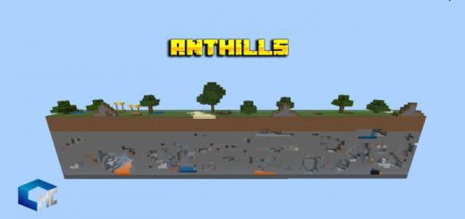 Карта AnthillSky V1 1.16 (Выживание)]