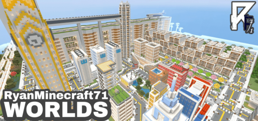 Карта RyanMinecraft71 World 1.16 (Реконструкция города)]