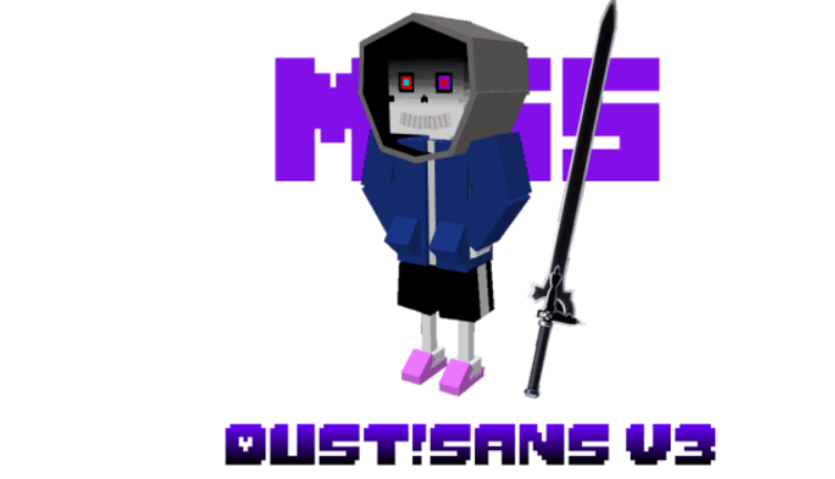 Мод New DustSans 1.16 (Уникальный персонаж)