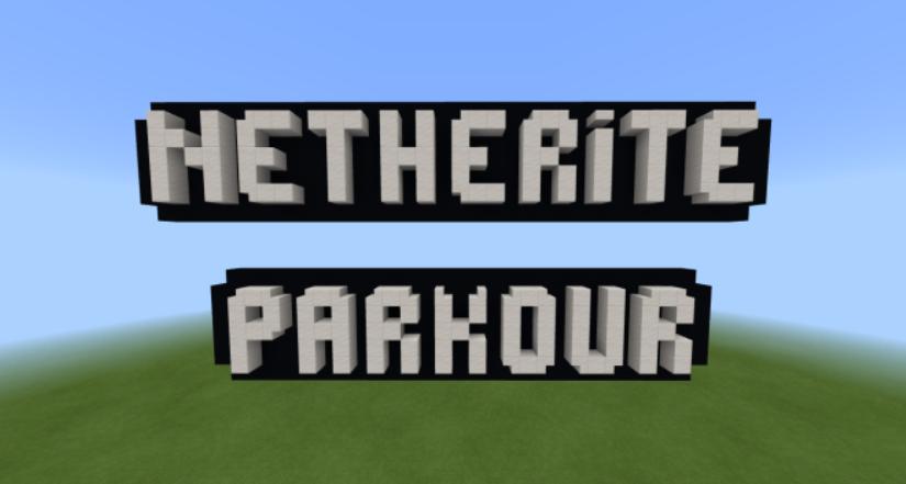 Карта Netherite Parkour 1.16 (Паркур)]