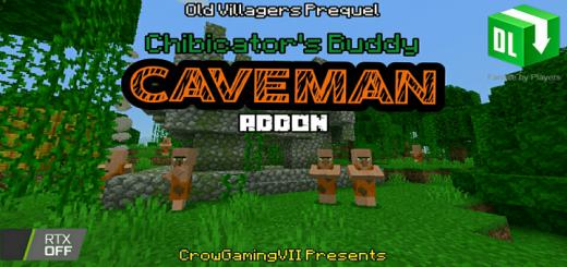 Мод Caveman Buddy 1.16 (Пещерные люди)]