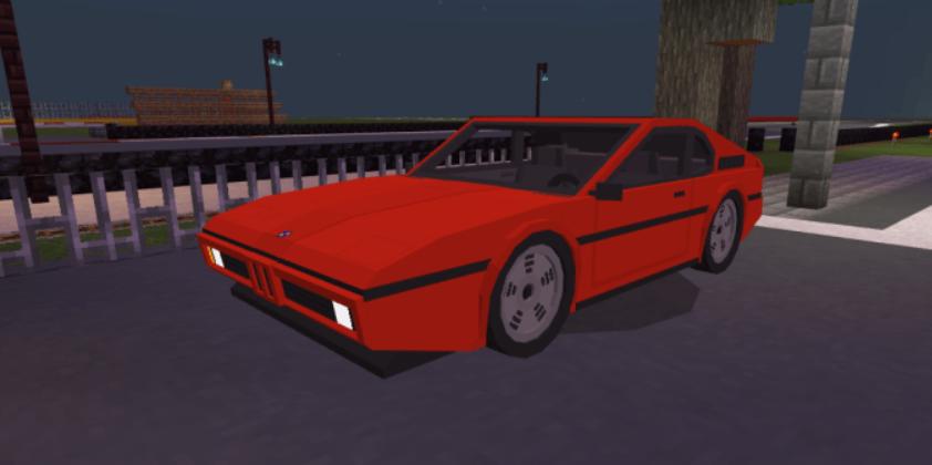 Мод 81′ BMW M1 1.16 (Гоночные автомобили)]