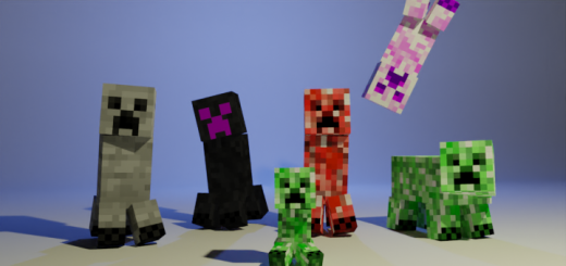 Мод MB's More Creepers 1.16 (6 новых криперов)]