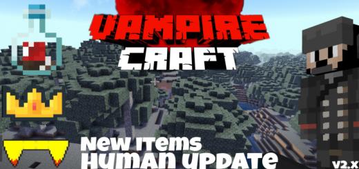 Мод Vampire Craft – Humans 1.16 (Вампиры)]