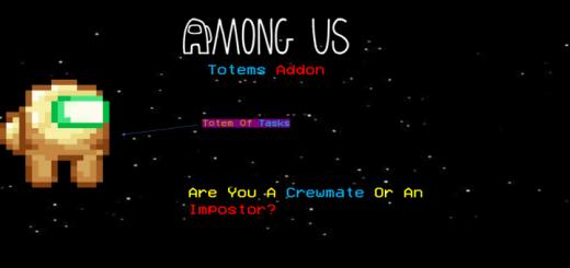 Мод Among Us Totems! 1.16 (Тотемы членов экипажа)]