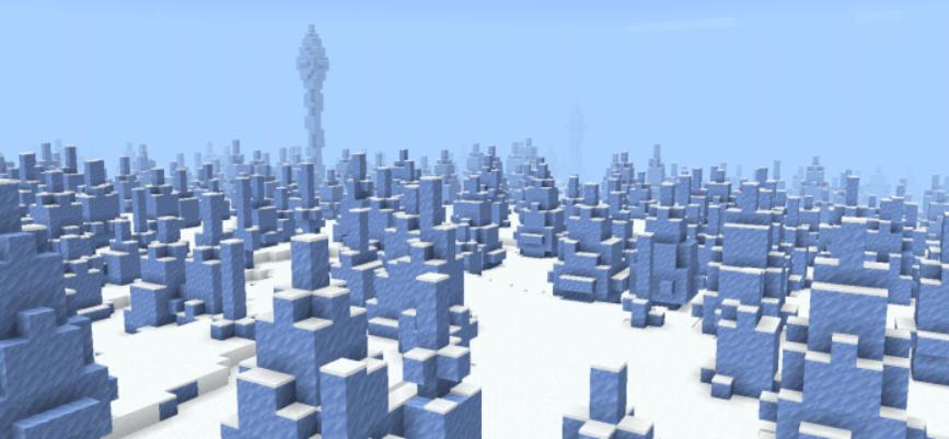 Мод OnlyOneBiome: Snowy Update 1.16 (5 новых режимов)]