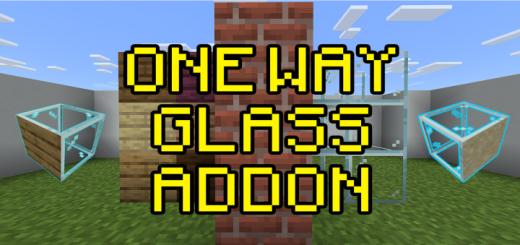Мод One Way Glass 1.16 (Стеклянные блоки)]
