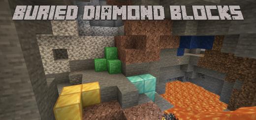 Мод Buried Diamond Blocks 1.16 (Экспериментальные опции)]
