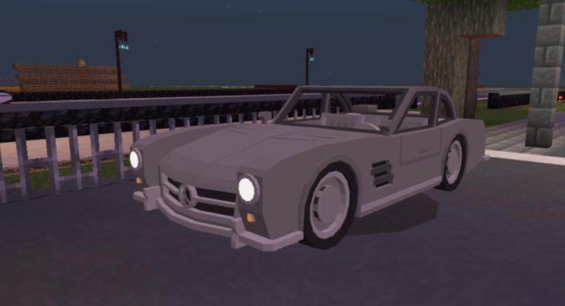 Мод 57′ Mercedes Benz 300SL 1.16 (Автомобиль)]