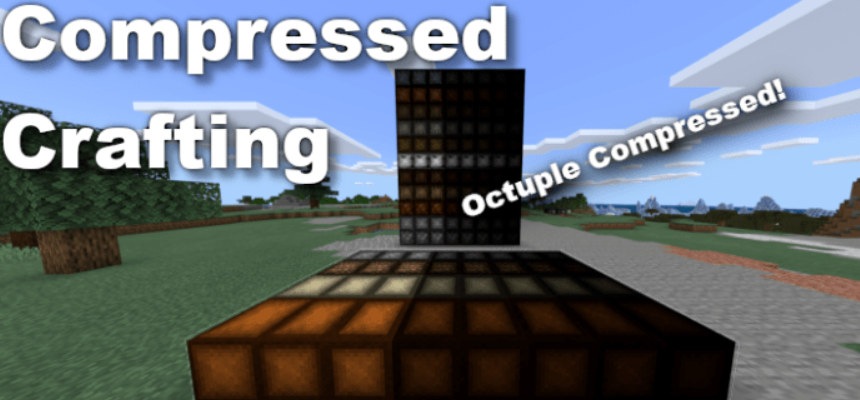 Мод Compressed Crafting 1.16 (Сжатие блоков)]