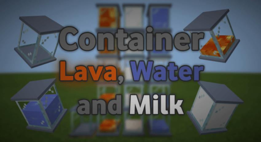 Мод Container 1.16 (Контейнер блок)]