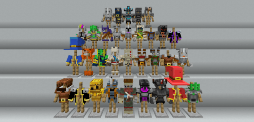 Мод Minecraft Dungeons Armor 1.16 (Доспехи)]